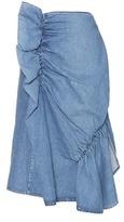 J.W.Anderson Gathered Denim Skirt