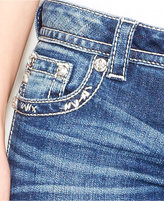 Miss Me Studded Cross Bootcut Jeans