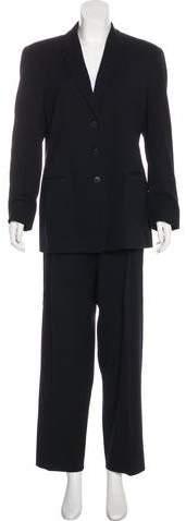 Giorgio Armani Structured High-Rise Pantsuit