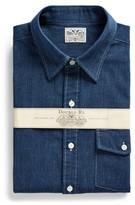 Ralph Lauren Slim Fit Indigo Striped Shirt