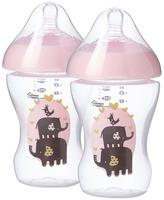 Tommee Tippee 2x260ml Ultra Dec Bottles - Girl