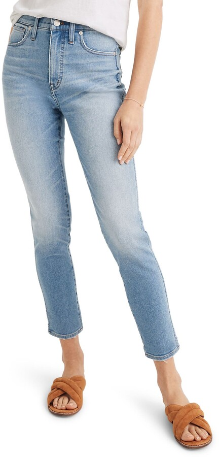 Madewell 10-Inch High Waist Crop Skinny Jeans