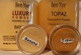 Ben Nye 2Pc. SAMPLE 10-ml Jars Luxury Set (Banana & Topaz)