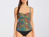 Baku Turkish Delight Bandeau Tankini