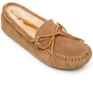 Minnetonka Sheepskin Softsole Moc Women's Shoes