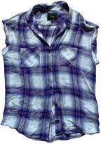 Rails Blue Cotton Top for Women