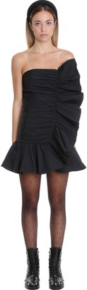 RED Valentino Dress In Black Synthetic Fibers