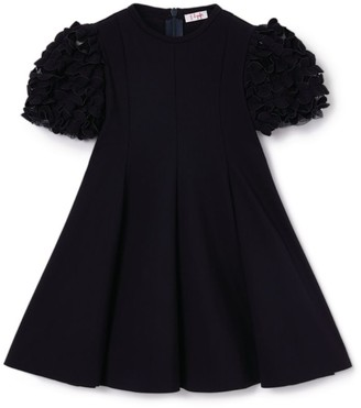 Il Gufo Puff-Sleeved Dress (3-12 Years)