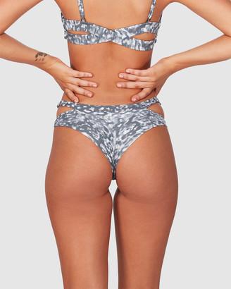 RVCA Leopard Haze Cheeky Bikini Pants