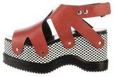 Proenza Schouler Leather Platform