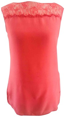 LK Bennett Pink Silk Top for Women