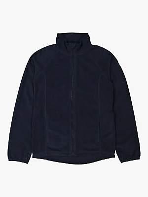 Polarn O. Pyret Children's Zip Fleece Jacket, Dark Sapphire