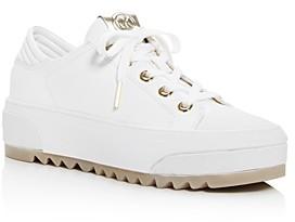MICHAEL Michael Kors Women's Keegan Platform Low-Top Sneakers