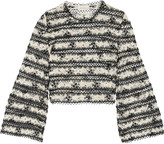 Zimmermann Embroidered corded lace top