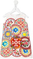 Dolce & Gabbana printed dress - kids - Cotton/Viscose - 24 mth