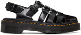 Dr. Martens Black Oriana Sandals