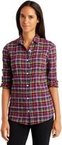 J.Mclaughlin Lois Shirt in Plaid