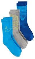 Nike Toddler Boy's 3-Pack Logo Crew Socks