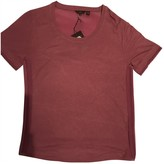 Mulberry Pink Linen Top for Women