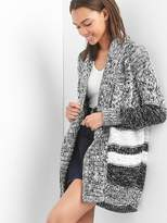 Gap Textured-knit open front cardigan