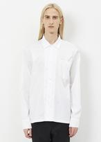 Our Legacy white superfine twill box shirt