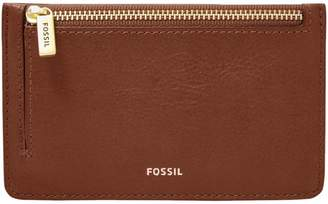 Fossil Logan Leather Card Case