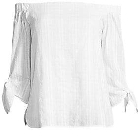 Bailey 44 Women's Yarrow Off-The-Shoulder Cotton Top