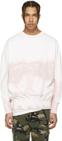 Faith Connexion Pink Distressed Tie-Dye Pullover
