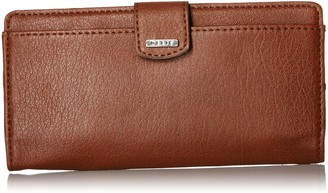 Relics Rfid Tab Checkbook - Saddle Wallet One Size