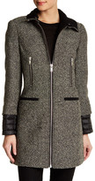 7 For All Mankind Tweed Donegal Wool Coat