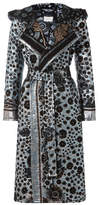 Peter Pilotto Brocade Lamé Hooded Coat