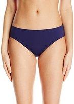 Anne Cole Women's Frank Classic Mid-Rise Bikini Bottom