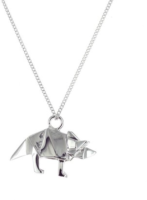 Origami Jewellery Mini Triceratop Sterling Silver