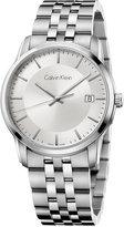 Calvin Klein Men's Swiss Infinite Stainless Steel Bracelet Watch 42mm K5S31146
