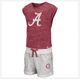 Colosseum Toddlers Alabama Crimson Tide Cuffed Tee and Short Set
