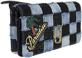 Marc Jacobs Denim Patchwork Satchel Shoulder Bag