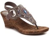 White Mountain Adeline Wedge Sandal