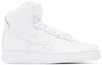 Nike White Air Force 1 High Sneakers