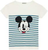 Cath Kidston Mickey Stripe Placement T-Shirt