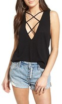 LnA Women's Double Cross Tank