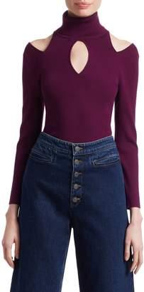 A.L.C. Matera Cutout Turtleneck Sweater