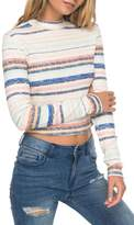 Roxy Smooth Move Mock Neck Crop Sweater
