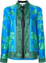 Versace greek key print shirt