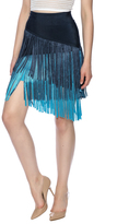 Wow Couture Multicolor Fringe Skirt