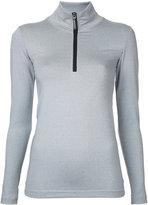The Upside zipped neck sweatshirt