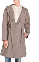 Eileen Fisher Hooded Long Jacket