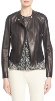 Belstaff 'Whyte' Nappa Leather Moto Jacket