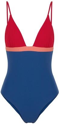 Casa Raki Maggie colour-blocked swimsuit