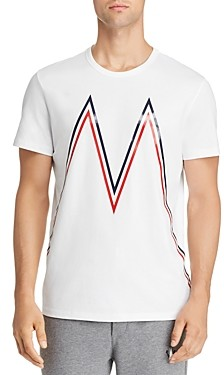 Moncler Maglia Large-Logo Graphic Tee
