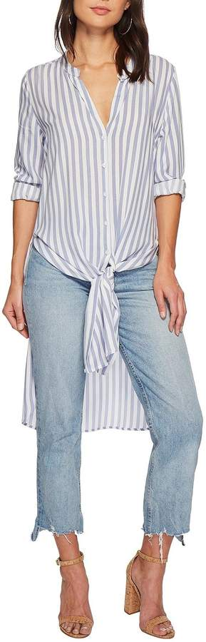 Bishop + Young Stripe Tie-Front Tunic